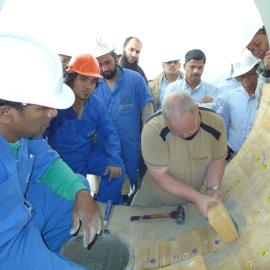 The First  On Site Training in The Gulf Region is Complete!